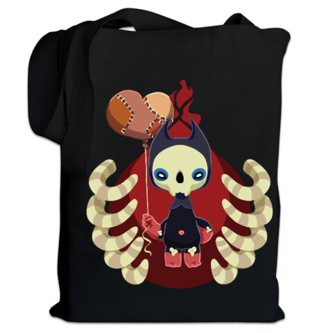 Skellybones bag - Lianne Booton's Art Tees